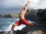 Yoga on Maui - omm, if you like, but just relax and don't worry about concentrating